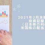 2021年2月の投資成績